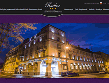 Tablet Preview of hotelracibor.pl